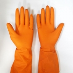 Перчатки Z-BEST Prof. Line-45194 плотные оранж латекс хоз.рМ-8