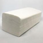 Полотенце Z-BEST-26053 V-сл. 24,5*22,5см 150шт 2сл. белые цел.ЧК