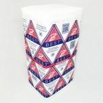 Полотенце Z-BEST-29055 V-слож. 24,5*23 160 шт 2сл. белые целл. У