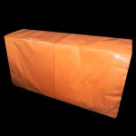 Салфетки 33х33 Z-BEST 200шт 2сл. оранжевые
