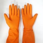 Перчатки Z-BEST Prof. Line-45195 плотные оранж латекс рL-9