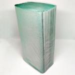 Полотенце-вкладыш Z-BEST-28955 V-сл. 25*23 150шт зеленые